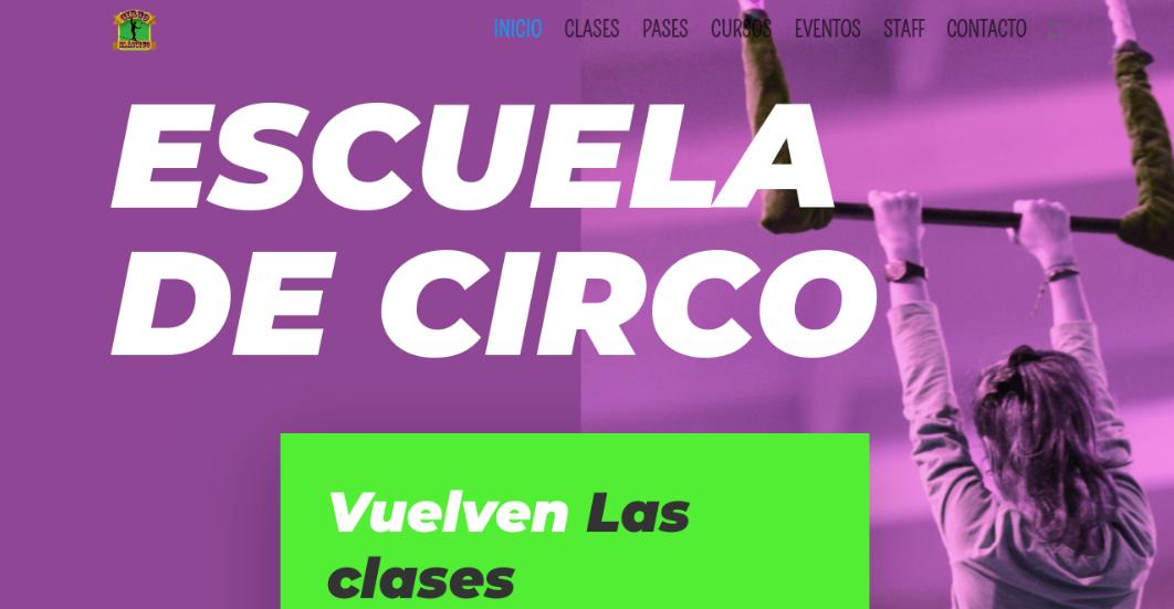 Circo Elástico web